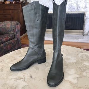 Bos & Co Leather Knee High Boots
